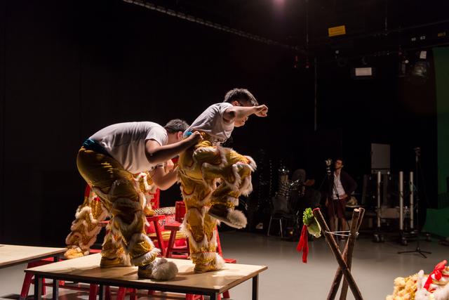 Samson Young 楊嘉輝, 'Muted Situation #2: Muted Lion Dance ', 2014, TKG+