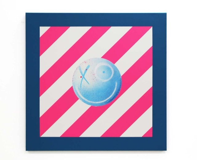 , 'Street Sign (Blue, Pink & White),' 2020, Danysz Gallery