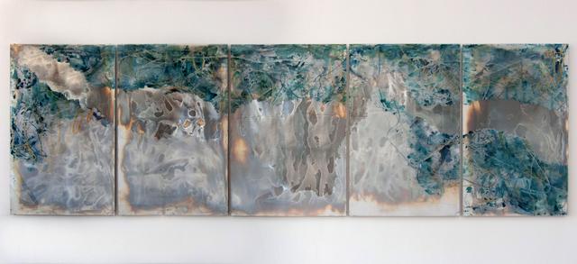 , 'Learning to Listen: I-V,' 2017, Massey Klein Gallery