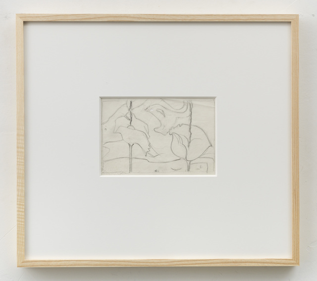 , 'Sketch for Siderium Exaltatum (Starry Venusweed),' 1997, Alison Jacques Gallery