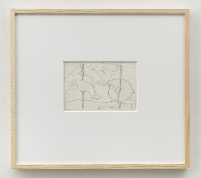 , 'Sketch for Siderium Exaltatum (Starry Venusweed),' 1997, Alison Jacques Gallery