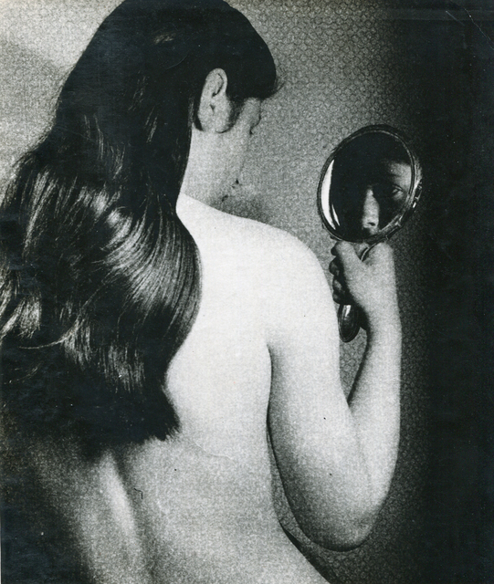 , 'Nude with Mirror through Gauze,' 1930s, Bruce Silverstein Gallery