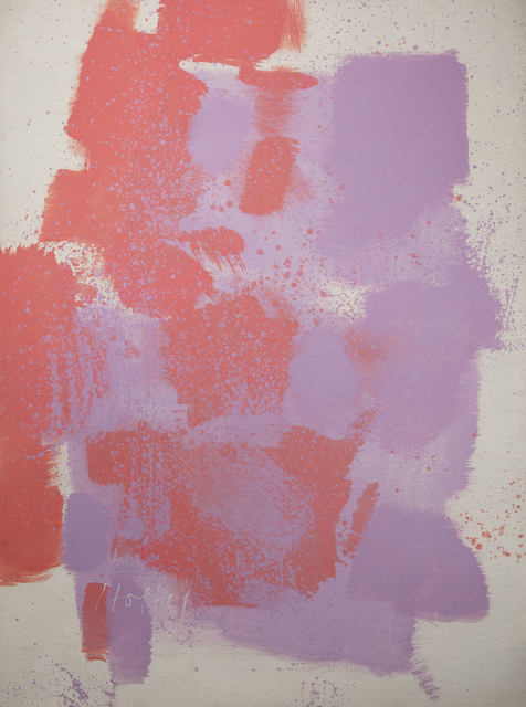 , 'Untitled #8/58 (Red, Purple, White),' 1970, Taylor   Graham