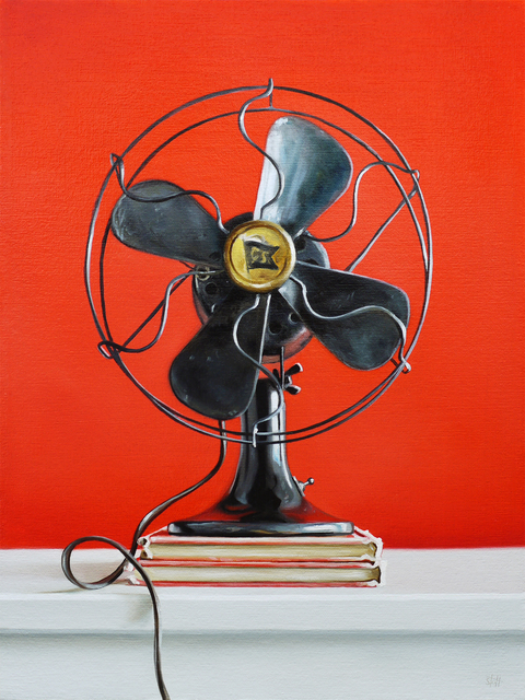 , 'Red Fan,' , George Billis Gallery