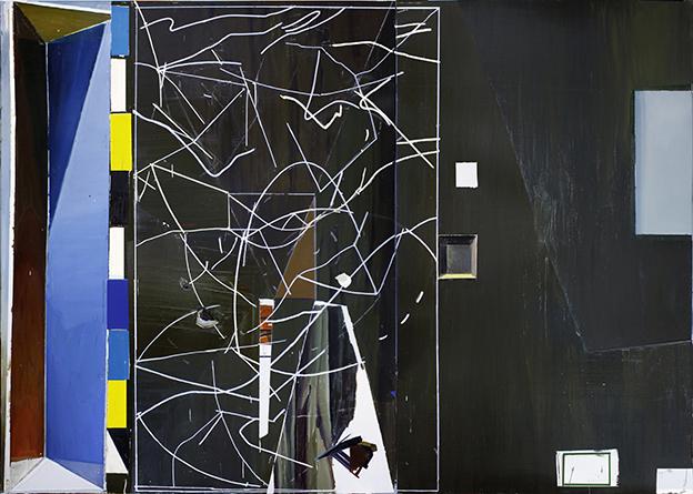 , 'S/T (Idée de peinture M.B.),' 2014, F2 Galería