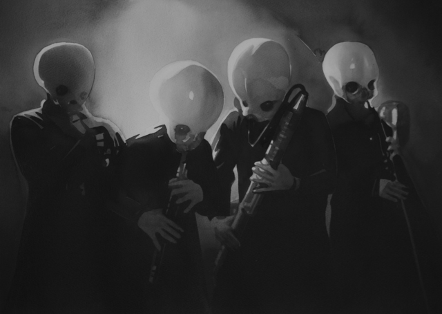 Radenko Milak, 'The alien band / Star Wars IV (#27)', 2018, PRISKA PASQUER