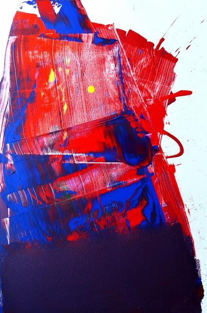 , 'Scrape, Scrape, Scrape From the Tableside of My Heart Painting,' 2019, JoAnne Artman Gallery