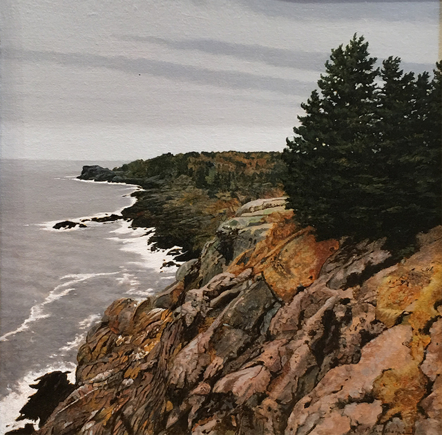 Peter Sculthorpe, 'Across Gull Cove - Monhegan Island, Maine', 2019, Somerville Manning Gallery