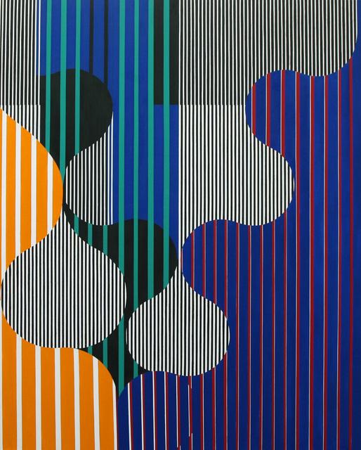 Oli Sihvonen, 'Untitled 003', 1991, Painting, Oil on canvas, David Richard Gallery