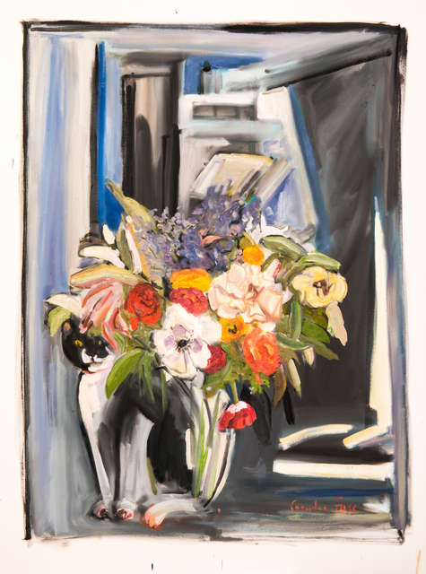 , 'Flowers with Max,' 2018, MM Fine Art