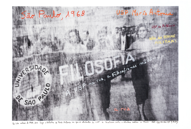 Marcelo Brodsky, 'From the series 1968: The fire of Ideas, USP, SP, 1968', 2014-2019, ROLF ART