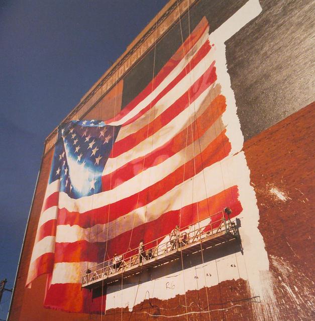 David Graham, 'Flag, Delaware Avenue, Philadelphia, Pennsylvania', 2001, PDNB Gallery