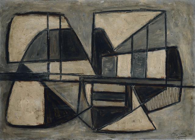 , 'Objeto Americano Negro,' 1955-1956, RGR+ART