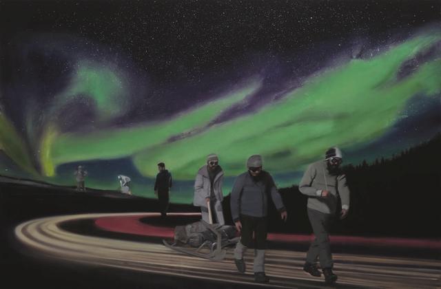 , 'The Visitors,' 2017, Tajan ArtStudio