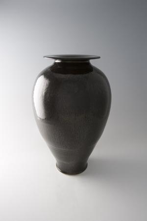 , 'Tall vase, oil spot glaze,' , Pucker Gallery