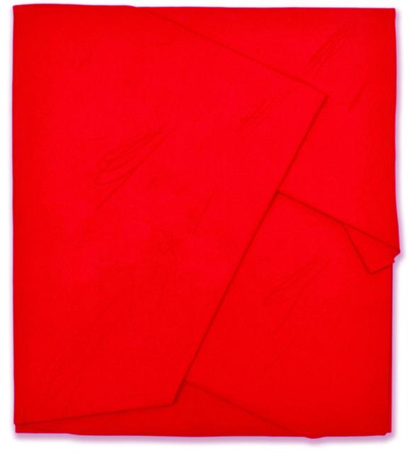 , 'Rosso di Cadmio Piegato,' 2014, Wook + Lattuada Gallery