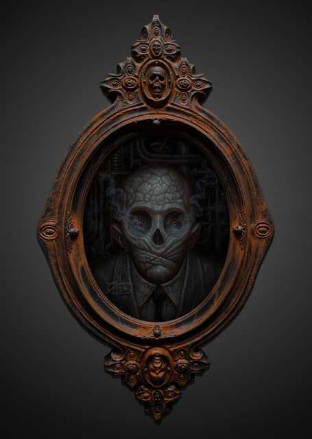 , 'Skull Administrator,' 2019, Beinart Gallery
