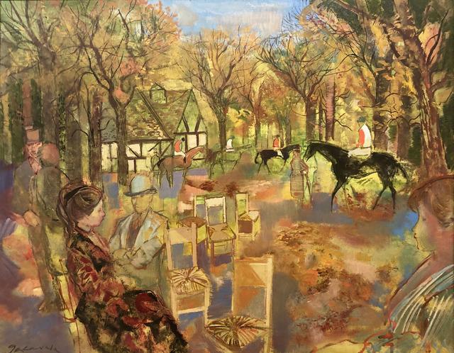 Emilio Grau Sala, 'Paddock', ca. 1960, Galeria Jordi Pascual