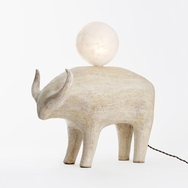 Kristin Victoria Barron, 'Bull Lamp ', 2019, The Future Perfect