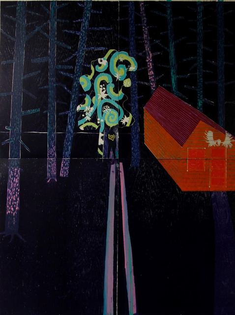 , 'Night Cabin,' 2014, Flowers