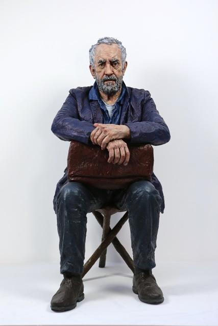 , 'Seated figure,' , LKFF