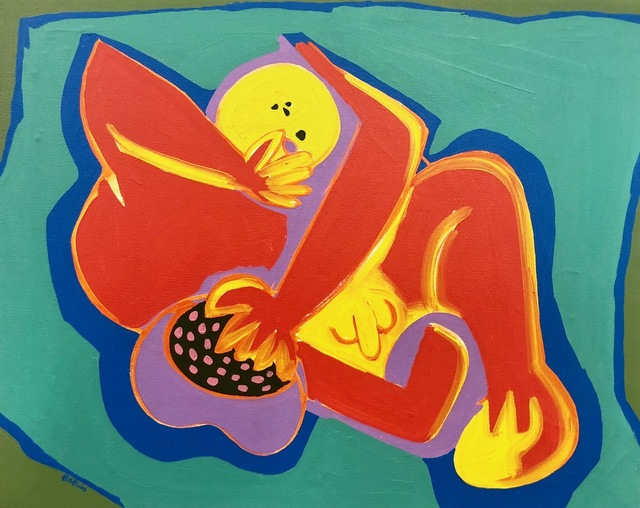 , 'Reclining figure with fruit,' , Absolut Art Gallery