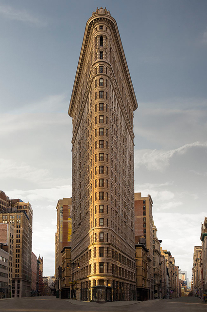 , 'Flatiron Building,' 2016, ClampArt