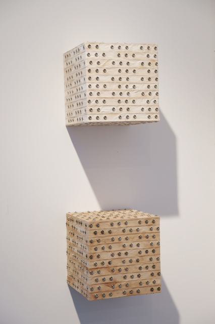 Denise Yaghmourian, 'Male and Female Cubes ', 2009, Bentley Gallery