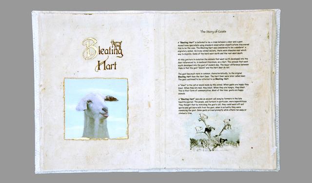 ", '""Bleating Hart: The Story of Goats"",' , CK Art"