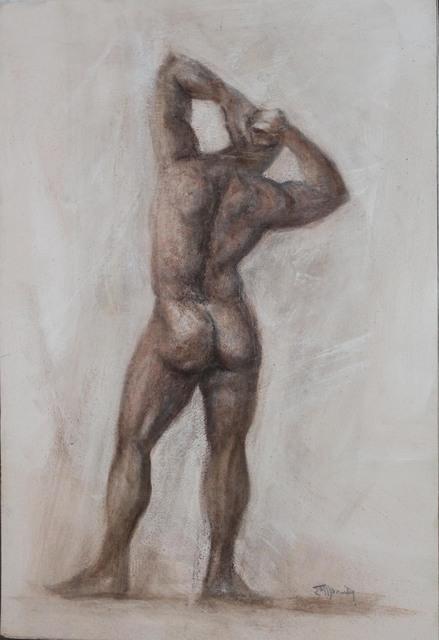 , 'Dorsal Male Nude ,' 2018, Galeria Canoa