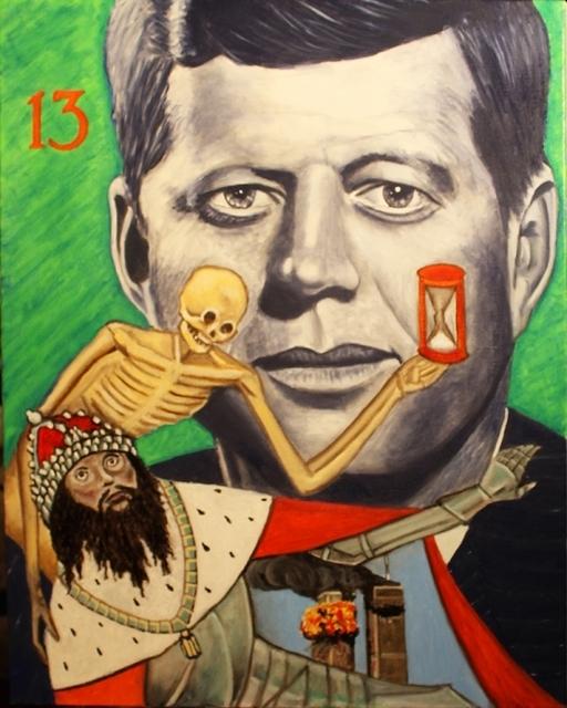 , 'Tarot - JFK as Death,' ca. 2016, Parlor Gallery