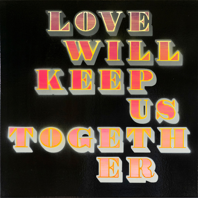 , 'Love Will Keep Us Together (Pink) (Black Gloss),' 2018, StolenSpace Gallery