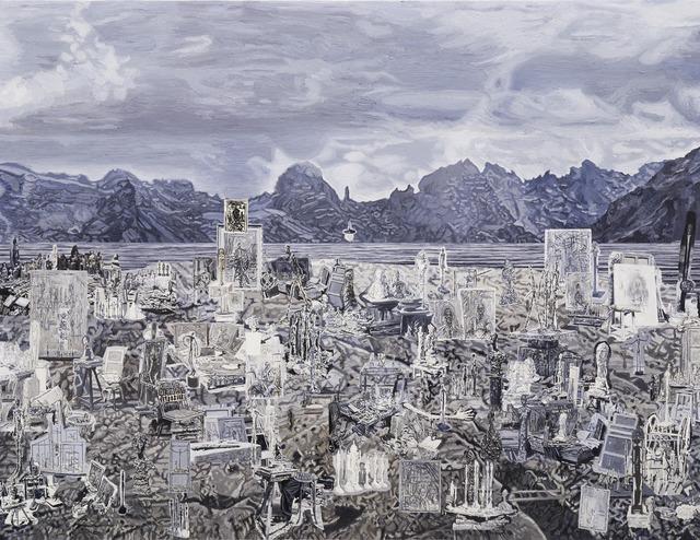 , 'Alberto Giacometti's Studio, Stampa,' 2017, NUNU FINE ART