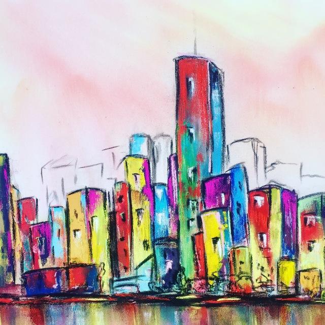 Marta Oppikofer, 'Hello City 4', 2018, ARTBOX.GALLERY