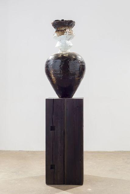 , 'Tarred pot,' 2015, White Cube