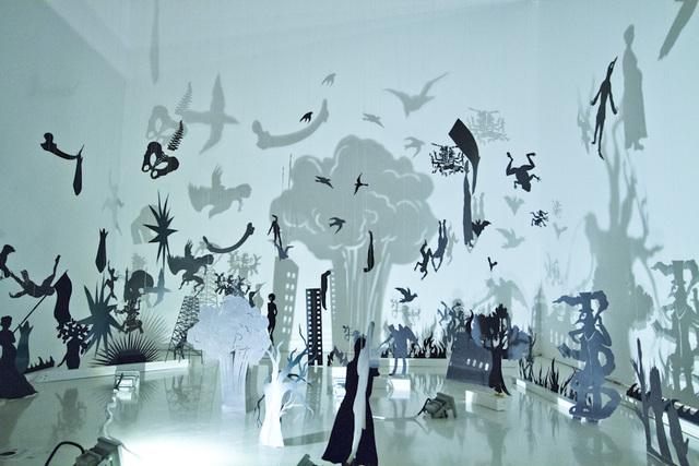 , 'La oscuridad consciente,' 2014, Museo Universitario del Chopo