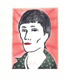 Anna Akhmatova from the Poets in Heaven series
