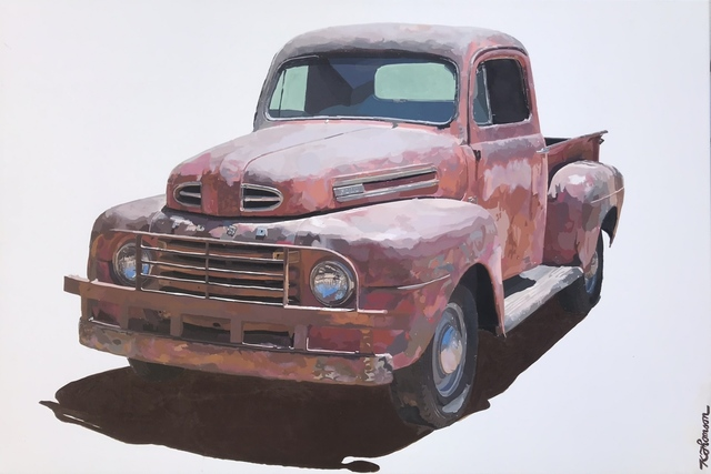 Keith Thomson, 'Old Red', 2018, UGallery