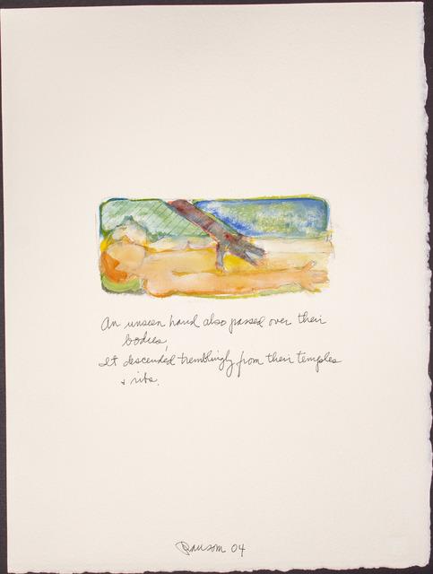 , 'An unseen hand...,' 2004, BlackBook Presents