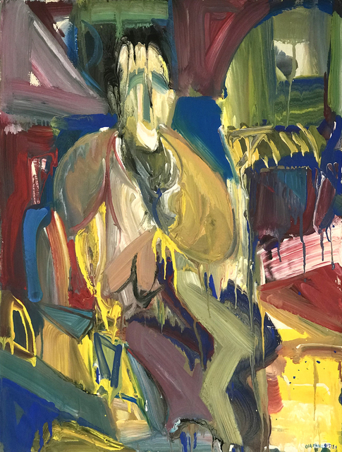 , 'Untitled (Seated Figure Arched Doorway),' 1984, The Good Luck Gallery