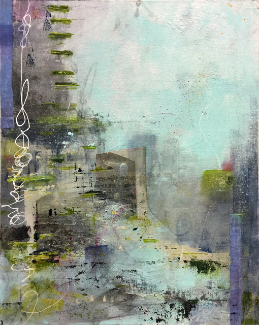 Robin Colodzin, 'Divided City', Copley Society of Art