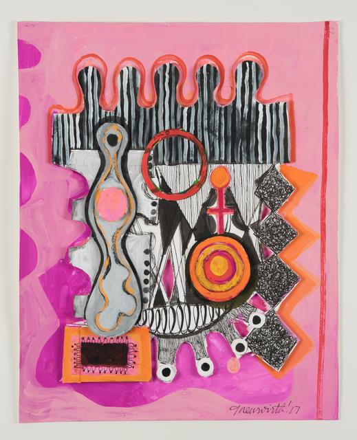 , 'Circus Set with Floating Shape #37,' 2017, Jacob Babchuk Gallery