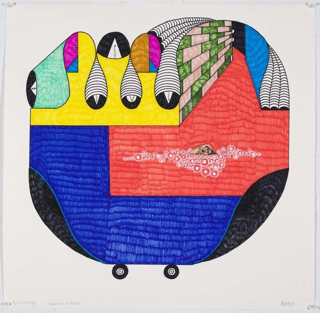 , 'Swimming to Havana III,' 2009, Lyle O. Reitzel