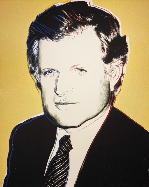 Andy Warhol, 'Edward Kennedy IIB.240', 1980, Print, Screenprint on Lenox Museum Board with diamond dust, Hamilton-Selway Fine Art