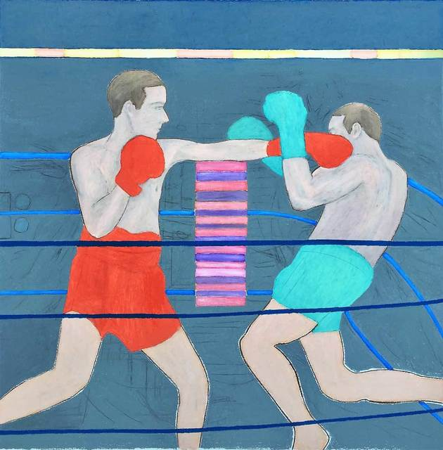 , 'The Boxer,' 2017, Mall Galleries