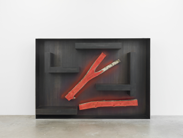 , 'Plank Cabinet 4,' 2014, Friedman Benda