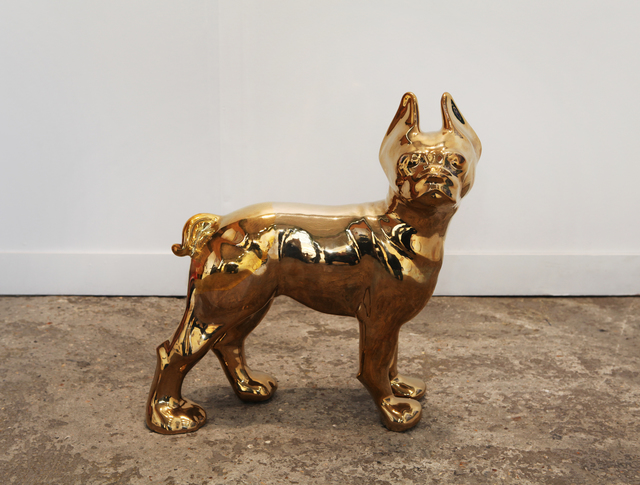 Stephanie Taylor, 'Brass Ass', 2014, Sculpture, Bronze with partial brass plating, Galerie Nagel Draxler