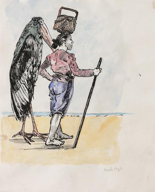 , 'Woman and Bird,' 1992, Marlborough London