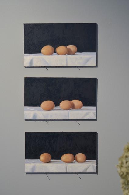 , 'Eggstrangement,' 2018, Eckert Fine Art