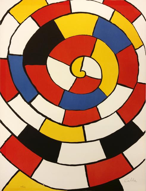 , 'Untitled (Spirals),' 1972, Galerie d'Orsay